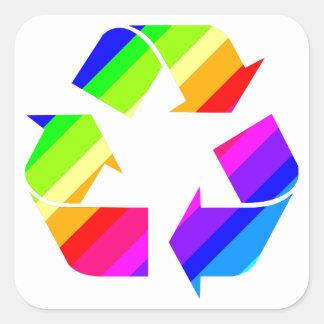 New Rainbow Recycle Stickers