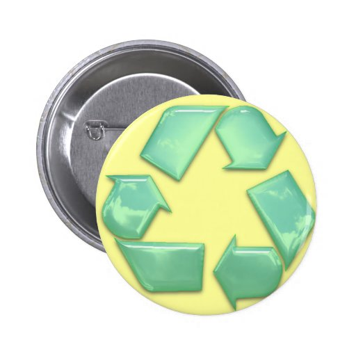 New Recycle Logo Pin