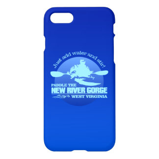 New River (Blue) iPhone 7 Case