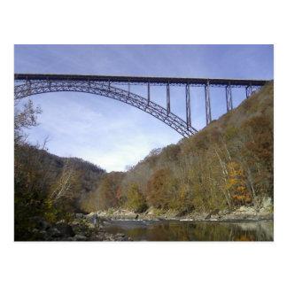 New River George Bridge Postcard