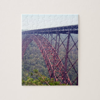 New River Gorge Bridge Jigsaw Puzzle