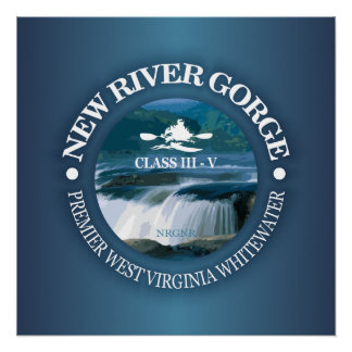 New River Gorge (c) Poster