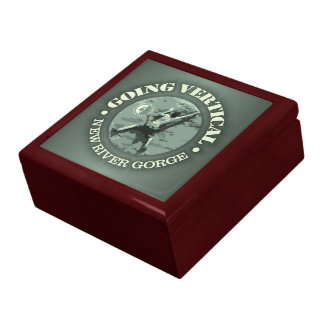 New River Gorge (Going Vertical) Large Square Gift Box