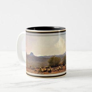 New River Landscape Coffee Mug