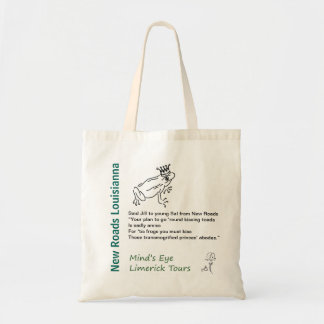 New Roads Louisianna Tote Mind's Eye Limerick Tour Budget Tote Bag