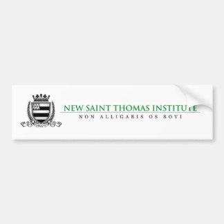 New Saint Thomas Bumper Sticker