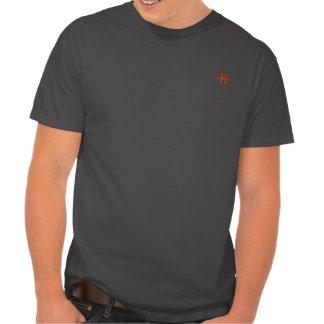New Satanic Cross Tee Shirt