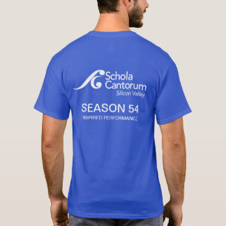 NEW Schola Cantorum logo MEN'S SHORT sleeved tee