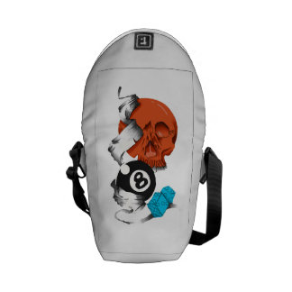 new school style, skulls, skulls, skate style, messenger bags