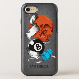 new school style, skulls, skulls, skate style, OtterBox symmetry iPhone 8/7 case