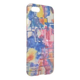 New Season - Abstract in Watercolor Your Name iPhone 7 Case