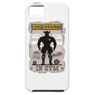 new sheriff in gym iPhone 5 case