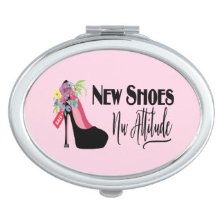 New Shoes Nu Attitude Makeup Mirror