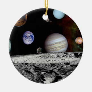 New Solar Ceramic Ornament