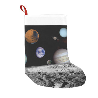 New Solar Small Christmas Stocking