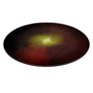 New Star Radial Design Cutting Board