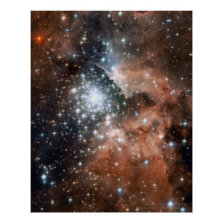 New Stars in NGC 3603 16x20 16x20 Print