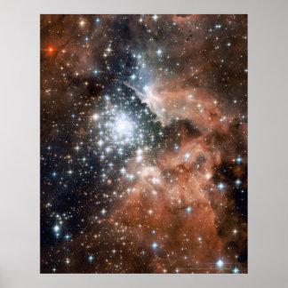 New Stars in NGC 3603 16x20 (16x20) Print