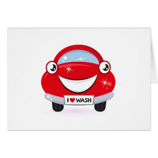 New stylish designers Greeting : with Car Card