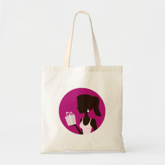 New stylish Tote bag with Girls Silhouette