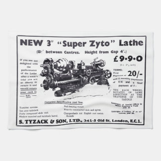 New Super Zyto Lathe Avert 1930's Kitchen Towels