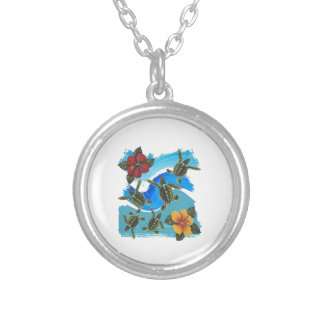 NEW THIS WORLD SILVER PLATED NECKLACE