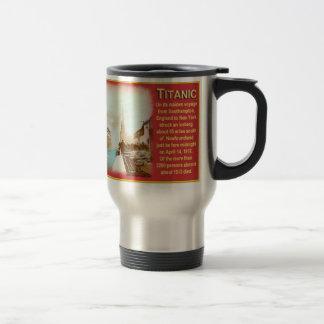 New Titanic Travel/Commuter Mug