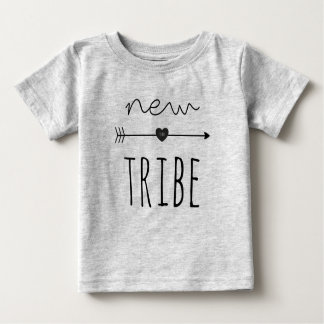 New To The Tribe Baby Fine Jersey Tee
