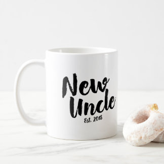 New Uncle Est. 2018, Future Uncle Gift Mug