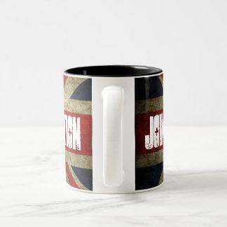 New Union Flag Join the Revolution Mug (Two tone)