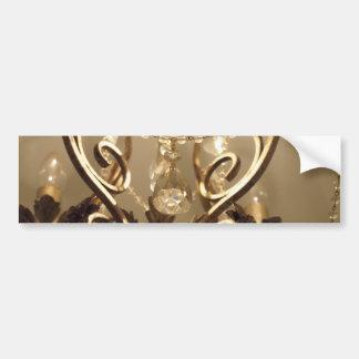 New Vintage Style 'Chandelier' Bumper Sticker