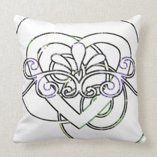 NEW Vintage Style Heart Throw Pillow