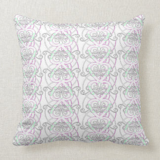 NEW Vintage Style Neon Heart Throw Pillow
