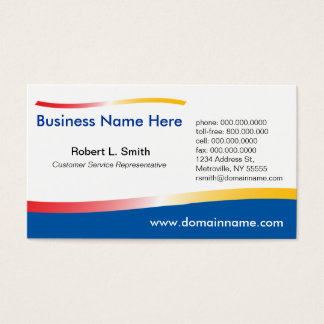 New Wave Business Card