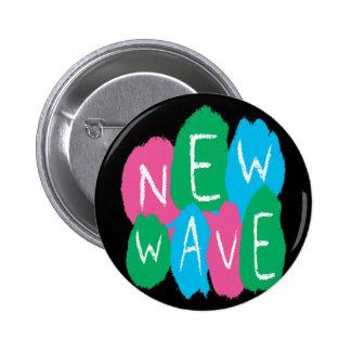 New Wave Graffiti 6 Cm Round Badge
