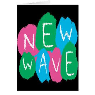 New Wave Graffiti Paint Greeting Card