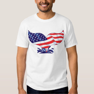 New-Whale-Tail-[Converted] T-shirts