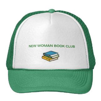 NEW WOMAN BOOK CLUB HAT GREEN
