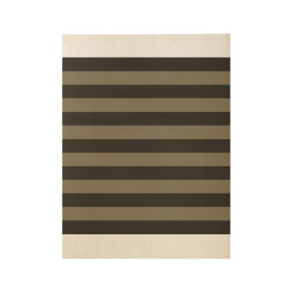 New wooden poster Art in shop : with stripes Wood Poster
