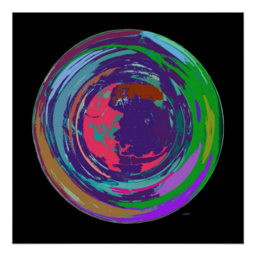 New World Abstract Expressionism Poster