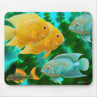 New World Cichlids Mousepad