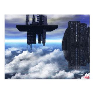 New World Cities Postcard