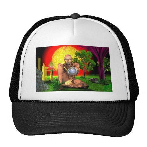 New World Elder Trucker Hats