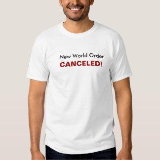 New World Order, CANCELED! Shirt