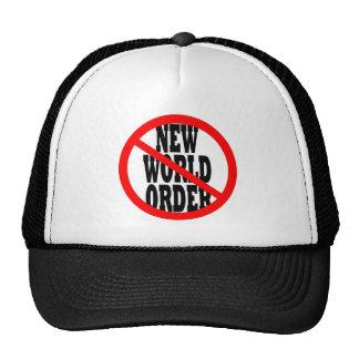 NEW WORLD ORDER HATS