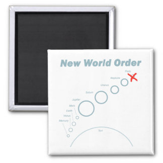 New World Order Magnet