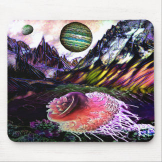 New World Space Mouse Pad by Artful Oasis