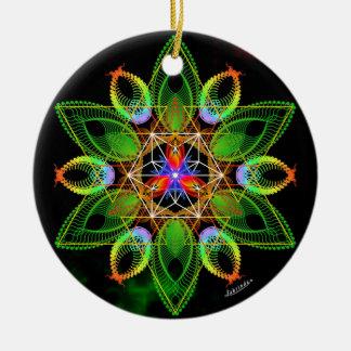 New World Vision/Networking Ceramic Ornament