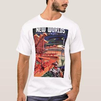 New Worlds 009 (1951-Sp.Nova)_Pulp Art T-Shirt