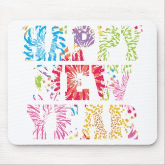 new year2 mouse pad
